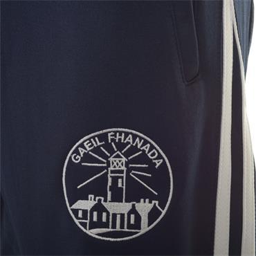 O'Neills Kids Fanad Gaels GAA Aston Skinny Pants - Marine/White