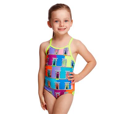 Funkita Girls Vacancy Swimsuit - Multi