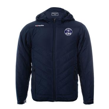 ADULTS FANAD GAELS PADDED JACKET - NAVY