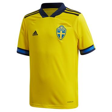 Adidas Kids Sweden Home Jersey 2020 - Yellow