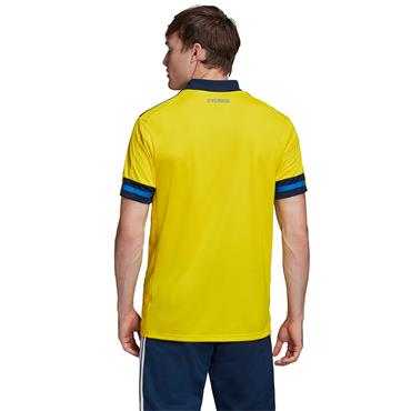 Adidas Adults Sweden Home Jersey 2020 - Yellow