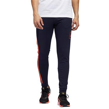 Adidas Mens Performance 2 Stripe Bottoms - Navy