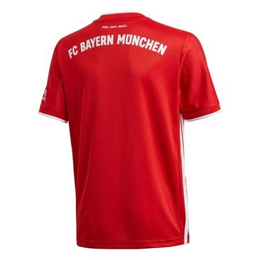 Adidas Kid's Bayern Munich 2020/21 Home Jersey - Red
