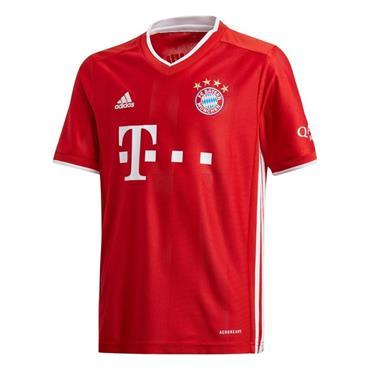 Adidas Kid's Bayern Munich 2020/21 Home Jersey - Red
