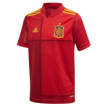 Adidas Kids Spain Home Jersey 2020 - Red