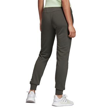 Adidas Womens Cuffed Linear Pants - Green