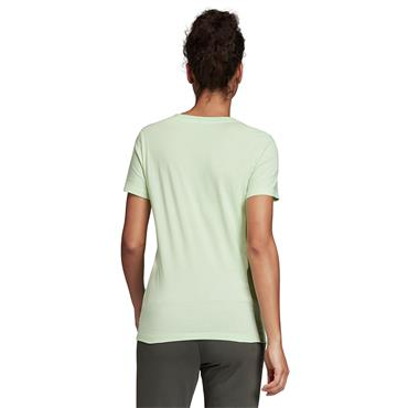 Adidas Womens Essentials Linear T-Shirt - Green