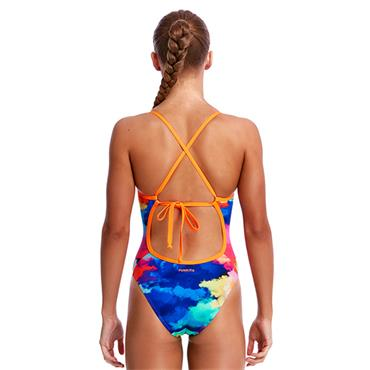 Funkita Girls Tie Me Tight Swimsuit - Multi