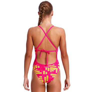 Funkita Girls Bar Bar Swimsuit - Multi Coloured