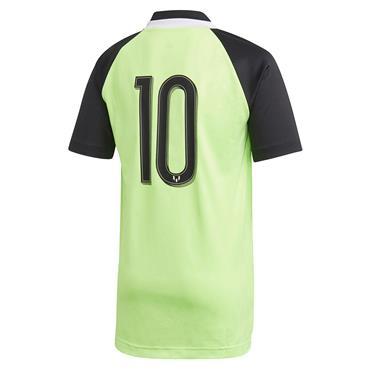 Adidas Boys Messi T-Shirt - Green