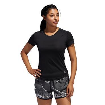 Adidas Womens Run It T-Shirt - BLACK