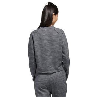 Adidas Womens Cropped Sweatshirt - Grey