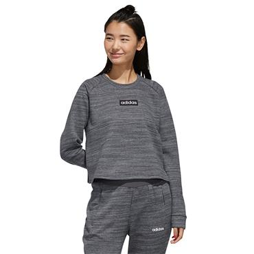 Adidas Womens Cropped Sweatshirt - Grey