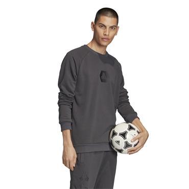Adidas Mens Tan Big Logo Sweatshirt - Green
