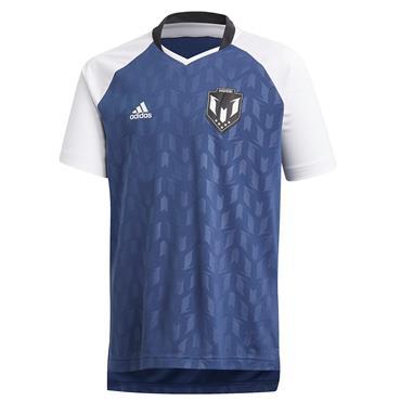 Adidas Boys Messi T-Shirt - Navy