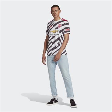 Adidas Man United Mens Third Jersey - Black/White