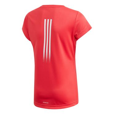 Adidas Girls Aeroready T-Shirt - Pink