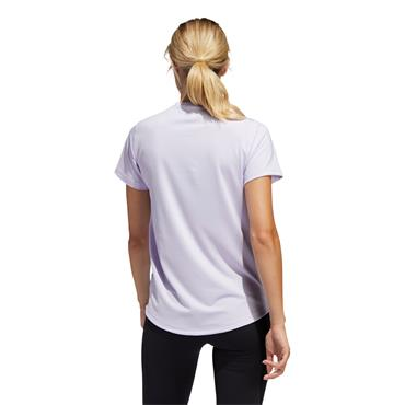 Adidas Womens Tech Boss T-Shirt - Purple