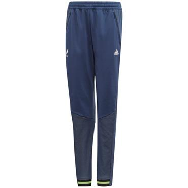 Adidas Boys Messi Tiro Tracksuit Bottoms - Blue