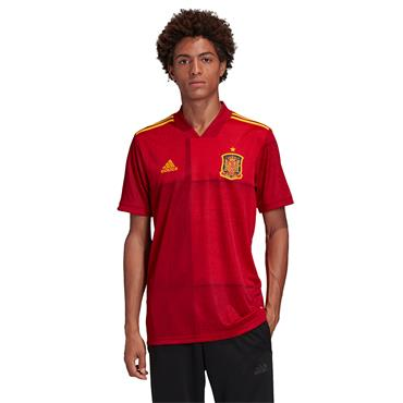 Adidas Adults Spain Home Jersey 2020 - Red