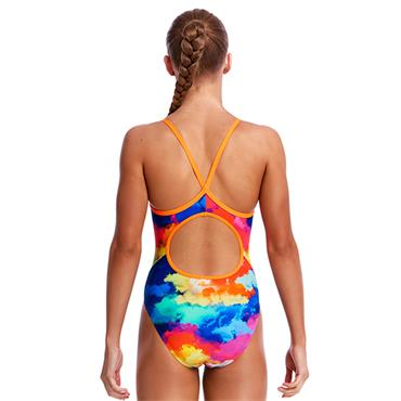 Funkita Girls Cumulus Swimsuit - Multi Coloured