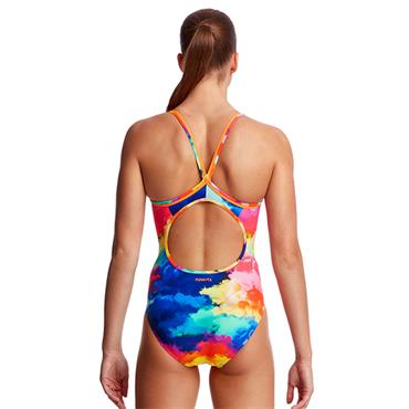 Funkita Womens Diamond Back Swimsuit - Multi