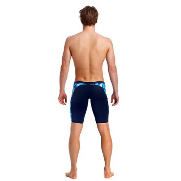 Funky Trunks Mens Crack Attack Jammers - Navy Multi