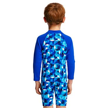 Funky Trunks Boys Ice Fortress Jumpsuit - Navy/Blue
