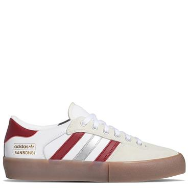 Adidas Mens SB Super X Shin Trainers - White/Red