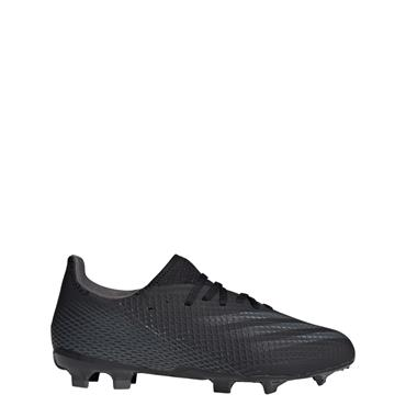 Adidas Kids X Ghosted .3 FG Football Boots - BLACK