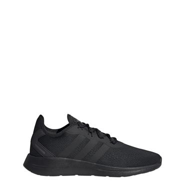 Adidas Mens Lite Racer Trainers - BLACK