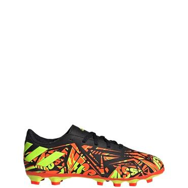 ADIDAS KIDS NEMEZIZ MESSI .4 FG FOOTBALL BOOTS - Red