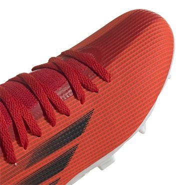 Kids Adidas X Speedflow.3 FG - Red