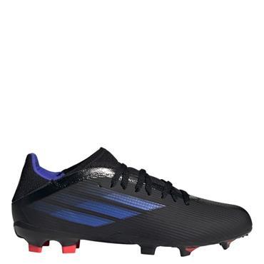 Kids Adidas X Speedflow.3 FG Football Boot - BLACK