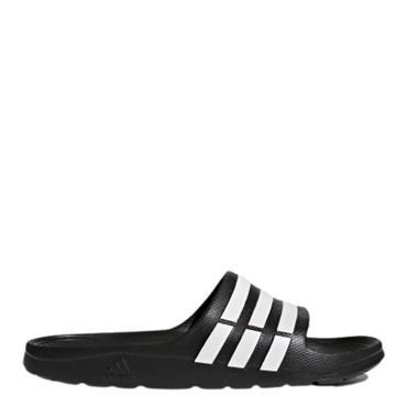 Adidas Duramo Slides - Black/White