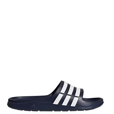Adidas Duramo Sliders - Navy/White