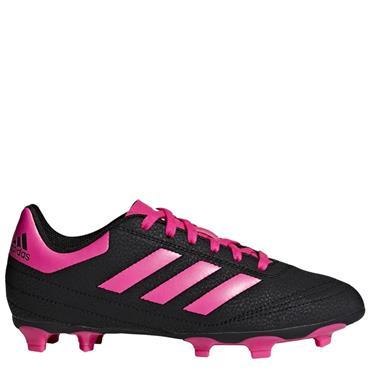 Adidas Kids Goletto VI FG Football Boots - BLACK