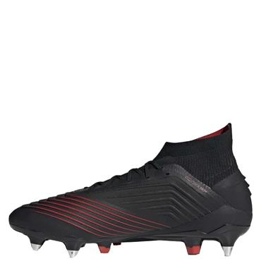Adidas Adults Predator 19.1 SG Football Boots - Black