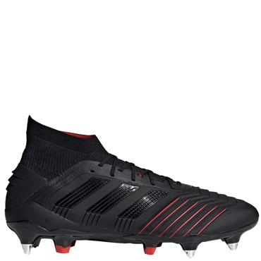 ADIDAS PREDATOR 19.1 SG FOOTBALL BOOTS - BLACK