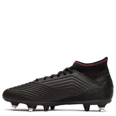 ADIDAS PREDATOR 19.3 SG FOOTBALL BOOTS - BLACK