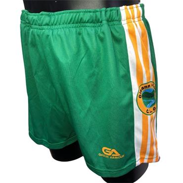 Gaelic Armour Glenswilly Kids Shorts - Green