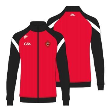 Gaelic Armour Urris GAA Mens Full Zip Jacket - BLACK