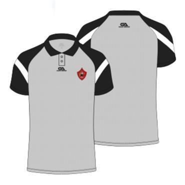 Gaelic Armour Mens Urris GAA Poloshirt - Grey