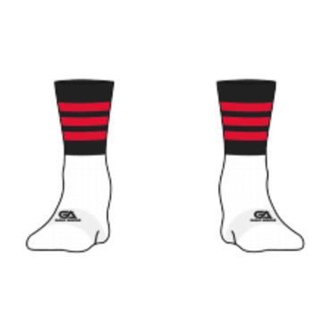 Gaelic Armour Urris GAA Socks - BLACK