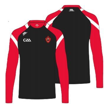 Gaelic Armour Mens Urris GAA Sweatshirt - BLACK
