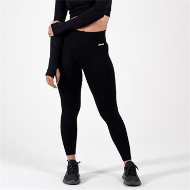 Gym Goddess Womens GAIA Leggings - BLACK