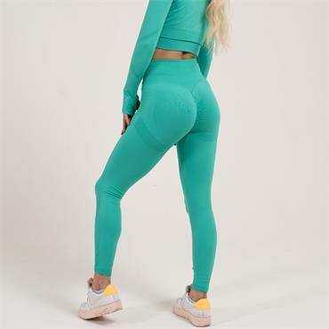 Gym Goddess Womens GAIA Leggings - Green