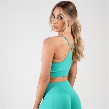 Gym Goddess Womens GAIA Sports Bra - Green