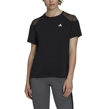 Adidas Womens Unleash Confidence T-Shirt - BLACK