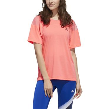 Adidas Womens Unleash Confidence T-Shirt - Pink